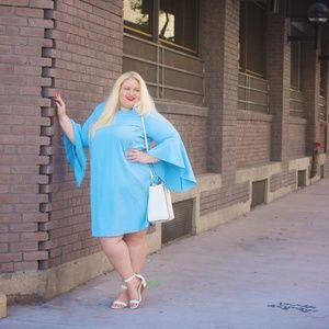 Dresses - Designer Blue dress